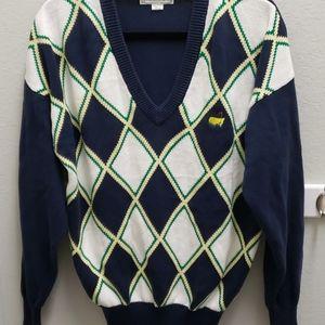 Augusta National Golf Shop Mens Lg Cotton Sweater